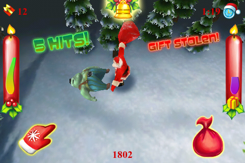 Screenshot Santa VS Zombies 3D!